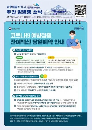 22주 카드뉴스_잔여백신 당일예약 안내
