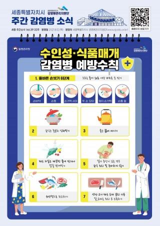 32주차 카드뉴스_수인성식품매개감염병예방