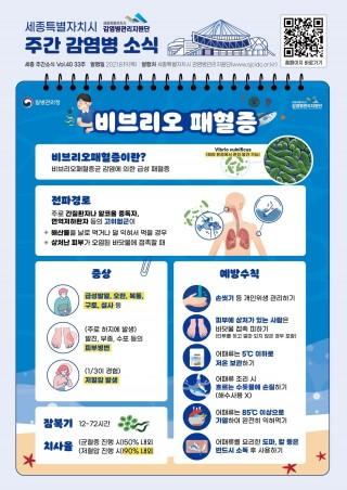 비브리오패혈증(33주 카드뉴스)